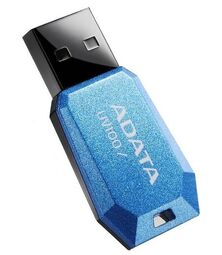 ADATA DashDrive Value UV100 8GB / USB 2.0 / modrá AUV100-8G-RBL