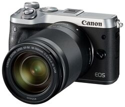 CANON EOS M6 BODY SILVER + EF-M 18-150 IS STM