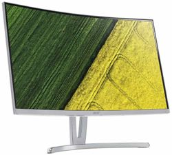 """Acer LCD ED273Awidpx/27"""" LED Curved/FHD/144Hz/250cd/4ms/DVI/HDMI/DP/ZeroFrame/EcoDisplay/FreeSync/Silver UM.HE3EE.A01"""