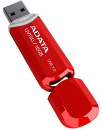 ADATA DashDrive Value UV150 16GB / USB 3.0 / červená AUV150-16G-RRD