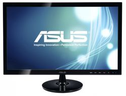 "ASUS 18,5"" LED VS197DE/ 1366x768/ 16:9/ 5ms/ 200 cd/ D-SUB/ VESA/ černý"