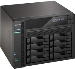 Asustor AS-608T, 8-bay NAS server/ media station/ Dual Core Atom 2,13GHz/ 1GB DDR3/ 2xUSB 3.0/ 4xUSB 2.0/ HDMI výstup/