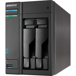 Asustor AS5002T, 4-bay NAS server/ Dual Core Celeron 2,41GHz/ 1Gb DDR3L/ 3xUSB 3.0/ 2xUSB 2.0/ 2x 1Gb LAN/ HDMI