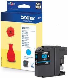 Brother LC-121C (inkoust cyan, 300 str.) LC121C