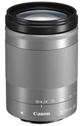 Canon EF-M 18-150mm f/3.5-6.3 IS STM Silver 1376C005