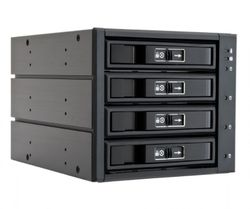 "CHIEFTEC backplane do 5,25"" na 4x SATA/SAS HDDs/SDDs (3,5"" or 2,5"") CBP-3141SAS"
