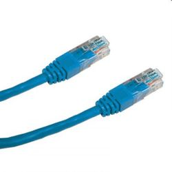 DATACOM Patch kabel UTP CAT5E 0,5m modrý 1503