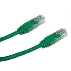 DATACOM Patch kabel UTP CAT5E 0,5m zelený 1504