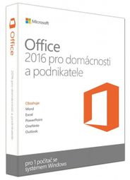 DELL OEM Microsoft Office Home & Business 2016 - pouze k HW Dell (630-ABDD)