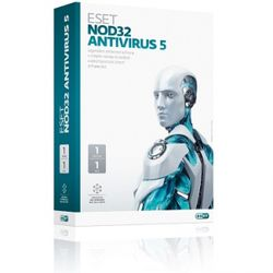ESET NOD32 Antivirus pro MS Windows - 1 instalace + 1 rok UPD Krabice