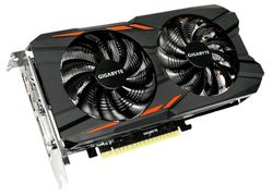 GIGABYTE GTX 1050 Ti Windforce OC 4GB (GV-N105TWF2OC-4GD)
