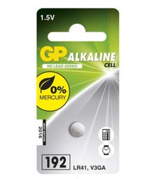 GP LR41 (GP192, 7.9 x 3.6 mm) - 1 ks 1041019211