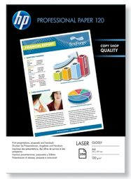 HP Professional Glossy Laser Paper 120 gsm, 250 listů/A4/210 x 297 mm