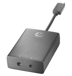 HP USB-C to 3 and 4,5mm Adapter N2Z65AA#AC3