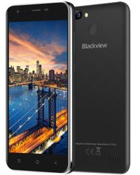 "iGET Blackview GA7Pro - Black   5"" IPS 1280x720, QuadCore, Dual SIM, 2GB+16GB, 13 MPx+8 MPx, LTE, Android 7"