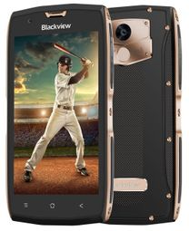 "iGET Blackview GBV7000 - Gold 5"" IPS 1920x1080, QuadCore, Dual SIM, 2GB+16GB,13 MPx+8 MPx, LTE, IP68, Android 7"