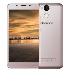 "iGET Blackview GP2 - Mocha   5,5"" IPS 1920x1080, OctaCore, Dual SIM, 4GB+64GB,13 MPx+8 MPx, LTE, Android 6"