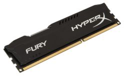 KINGSTON HyperX FURY 4GB DDR3 1333MHz / DIMM / CL9 / černá HX313C9FB/4