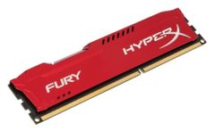 KINGSTON HyperX FURY 4GB DDR3 1333MHz / DIMM / CL9 / červená HX313C9FR/4