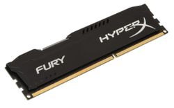 KINGSTON HyperX FURY 4GB DDR3 1866MHz / DIMM / CL10 / černá HX318C10FB/4