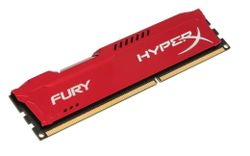 KINGSTON HyperX FURY 4GB DDR3 1866MHz / DIMM / CL10 / červená HX318C10FR/4