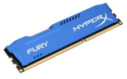 KINGSTON HyperX FURY 4GB DDR3 1866MHz / DIMM / CL10 / modrá HX318C10F/4