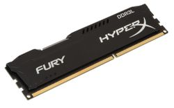 KINGSTON HyperX FURY 4GB DDR3L 1866MHz / DIMM / CL11 / 1,35V / černá HX318LC11FB/4