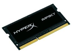 KINGSTON HyperX Impact 4GB DDR3L 1600MHz / SO-DIMM / CL9 / 1.35V / černá HX316LS9IB/4