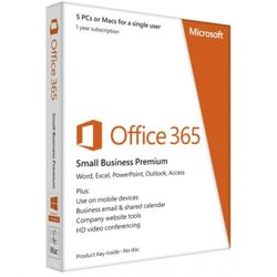 MS Office 365 Business Premium SNGL OLP NL Annual Qlfd 9F4-00003