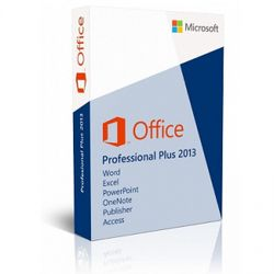 MS Office ProPlus 2013 SNGL Lic/SA Pack OLP NL AE