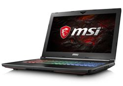 "MSI GT62VR 7RE-423CZ Dominator Pro / 15,6"" FHD / i7-7700HQ / 32GB / 512SSD + 1TB / GeForce GTX 1070 8GB / Win10 Home"