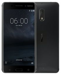 """Nokia 6 730 DS - Black 5,5"""" FHD/ DualSIM/ 3GB RAM/ 32GB/ 16 + 8Mpx/ LTE/ Android 7438410000000 6,43841E+12"""