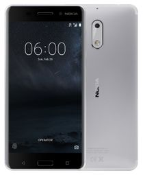 """Nokia 6 730 DS - Silver 5,5"""" FHD/ DualSIM/ 3GB RAM/ 32GB/ 16 + 8Mpx/ LTE/ Android 7 6438410000000 6,43841E+12"""