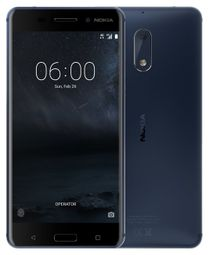 """Nokia 6 730 SS - Blue 5,5"""" FHD/ 3GB RAM/ 32GB/ 16 + 8Mpx/ LTE/ Android 7 6438410000000 6,43841E+12"""