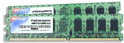 Patriot RAM DDR2 4GB (2x2GB) SL PC2-6400 800MHz CL5, PSD24G800K