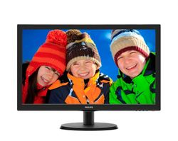 "PHILIPS 21,5"" LED 223V5LSB/ 16:9 1920x1080/ 10.000.000:1/ 5ms/ DVI/ D-SUB/ černý"