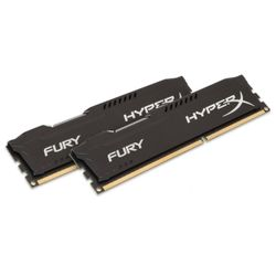 POUŽITÉ - KINGSTON HyperX FURY Black 8GB DDR3 1866MHz / DIMM / CL10  / KIT 2x 4GB RAMS0346V