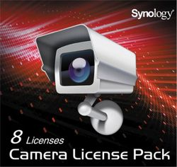 Synology Camera License Pack x 8 IPC8