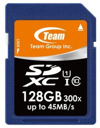 TEAM 128GB Secure Digital SDXC/ UHS-1 TSDXC128GUHS01