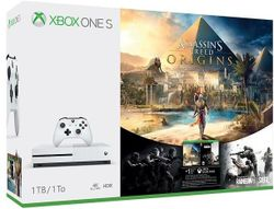 Xbox One S 1TB Assassin's Creed: Origins + Rainbox 6: Siege ( 234-00235)