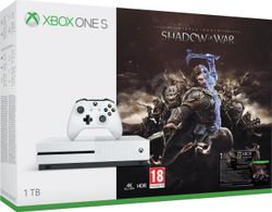XBOX ONE S - 1TB + Middle-Earth: Shadow of War