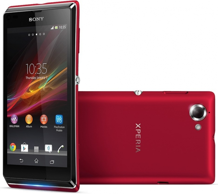 Sony Xperia L (C2105), Red